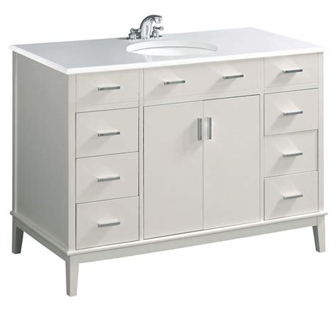 bath vanity combos in canada canadadiscounthardware com urban loft 49 inch dark espresso bath vanity with quartz