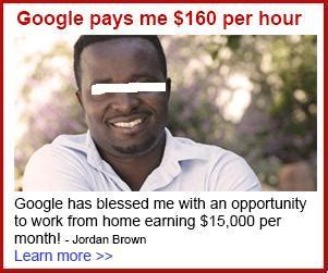 Working Online From Home For Google - work from home scams quot google pays me per hour and earning per month quot