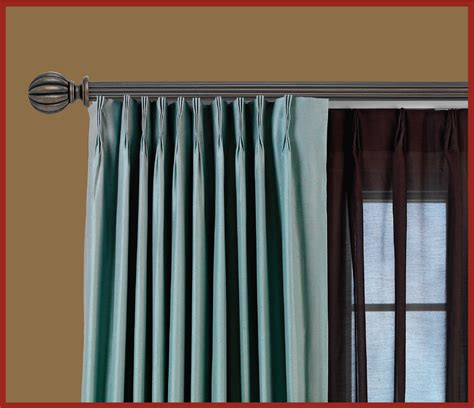curtain rods traverse traverse rod curtains pinch pleated drapes for traverse