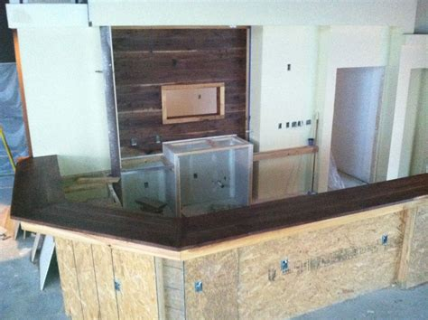 Handmade Black Walnut Bar Top by Creative Insanity Designs