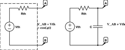 voltage across capacitor open circuit phasors and differential equation circuit analysis electrical engineering stack exchange