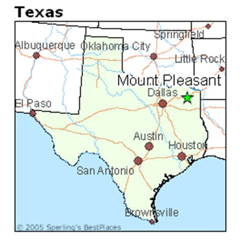 mt pleasant texas map 14 tx wr kd cannon baylor verbal envy notre dame football discussion