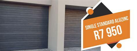 Overhead Door Price List Rightfit Garage Doors New Age Aluzinc Garage Doors