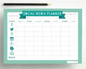 Social Media Planner by Social Media Planner Pdf By Hellolittlehawk On Etsy