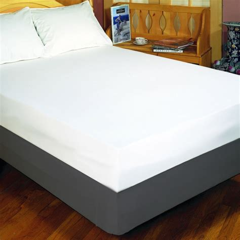 Mattress Cover For Allergies by Fitted Allergy And Waterproof Mattress Cover