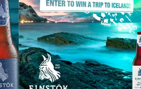 Iceland Adventure Sweepstakes - einstok beer 6 pack adventure sweepstakes