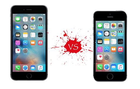 iphone 6s vs iphone se what s the difference beyond size your mobile