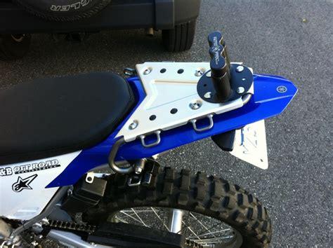 Wr250r Rear Rack by Rotopax 1 Gallon On Yamaha Rear Rack