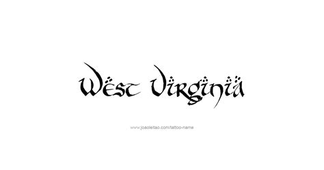 virginia tattoo designs west virginia usa state name designs tattoos with
