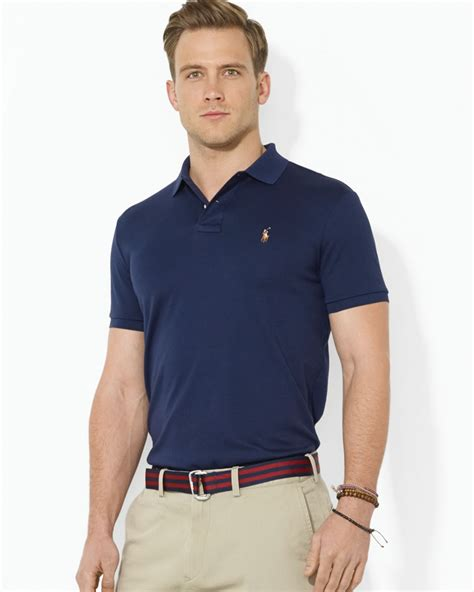 Celana Softjeans Polos lyst pink pony polo pima soft touch classic polo shirt regular fit in blue for