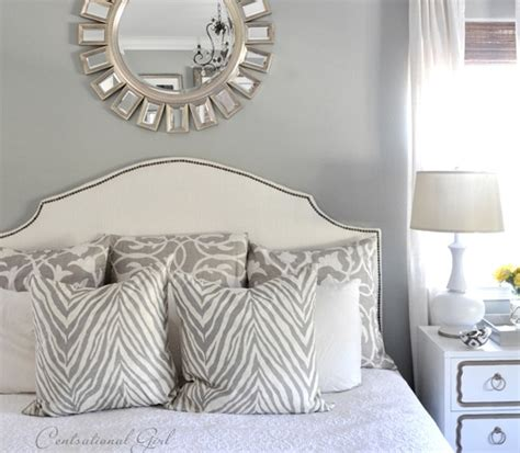 Centsational Headboard by Upholstered Headboard With Nailhead Trim Revisited