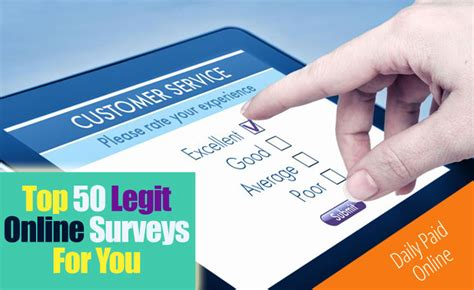 Reputable Surveys For Money - top 50 legitimate online surveys that pay cash through paypal