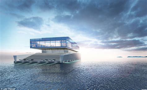 Glass Ceiling Meaning by The 5 600 Square Foot Glass Mega Yacht Inspired By