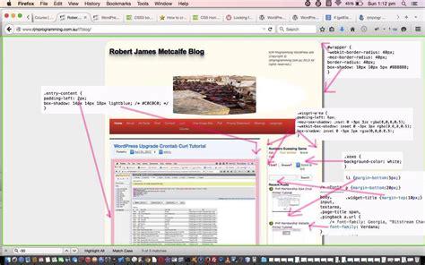 tutorial wordpress css wordpress css rounded shadowed border tutorial robert
