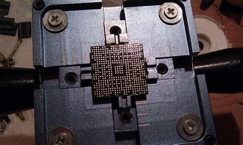 Amtech Nc 560 dv9000 naprawa reballing grafiki 17 elektroda pl