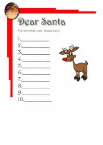 List For Santa Template Iworkcommunity Santa List