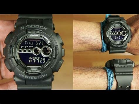 G Shock Gsd 100 Black casio g shock gd 100 1b black unboxing