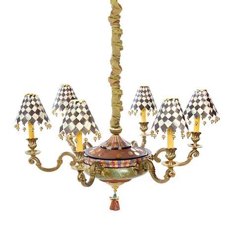 mackenzie childs l shades mackenzie childs grandolier chandelier free shipping
