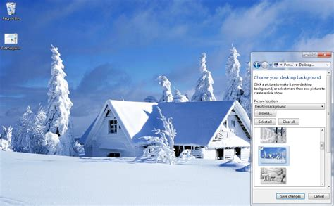 microsoft themes winter freezing winter windows 7 theme download
