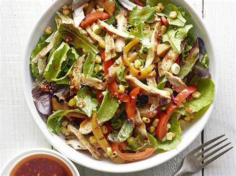 Fast Easy Dinner Salad With Saganaki by Dish Chicken Salads Myrecipes