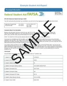 student aid report sample office of student financial aid news missouri state ojvmyzkybts student aid report correction form