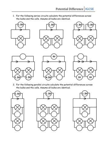 parallel circuits ks3 worksheet series parallel circuit worksheet worksheets for school getadating
