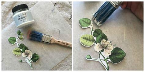 Define Decoupage - floral inspired decoupaged image transfer dresser hometalk