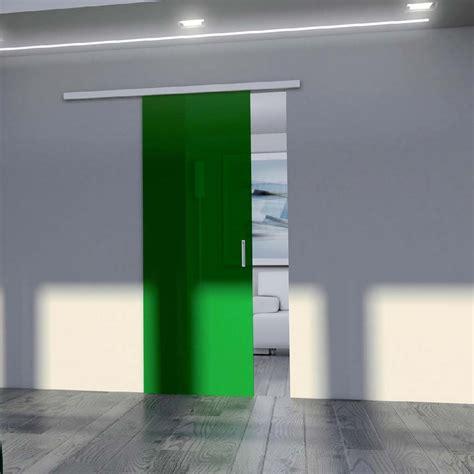 porta in vetro scorrevole porta scorrevole vetro verde mdbportas