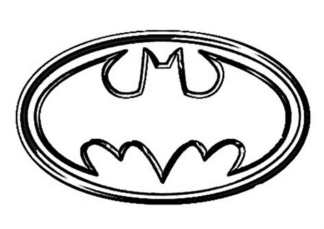 printable batman logo coloring pages printable batman logo clipart best