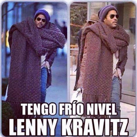 imagenes memes sobre el frio memes graciosas de lenny kravitz con el pantalon roto