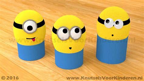 Meiden Knutsel Ideeen by Minions Paasei Knutsels Voor Kinderen Leuke Idee 235 N Om