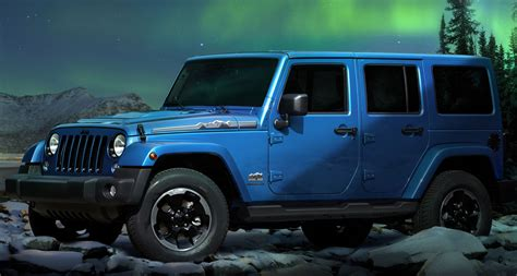 Jeep Wrangler Polar Jeep Wrangler Polar Edition For Europe Revealed Ahead Of