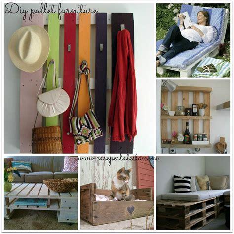 Idee Arredo Con Pallet by Arredo Con Pallets Di Legno Diy Pallets Furniture