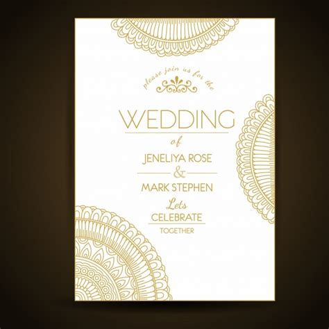 templates for wedding invitations free to wedding invitation template vector free