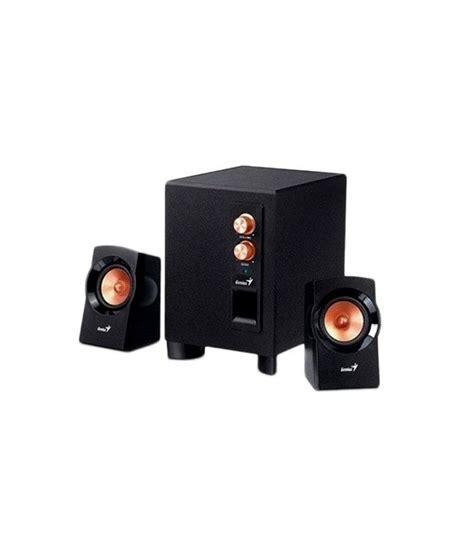 Genius Sw 2 1 360 Speaker buy genius 360 sw 2 1 speakers at best price in