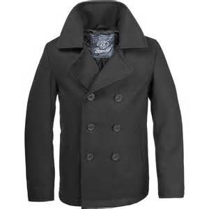 Pea Cost Brandit Pea Coat Black Coat 1st