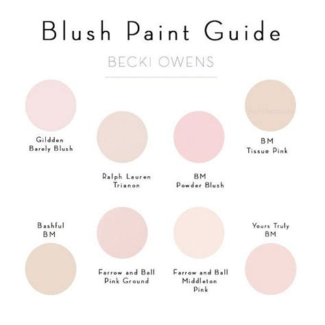 blush pink 25 best ideas about pink paint colors on pinterest pink