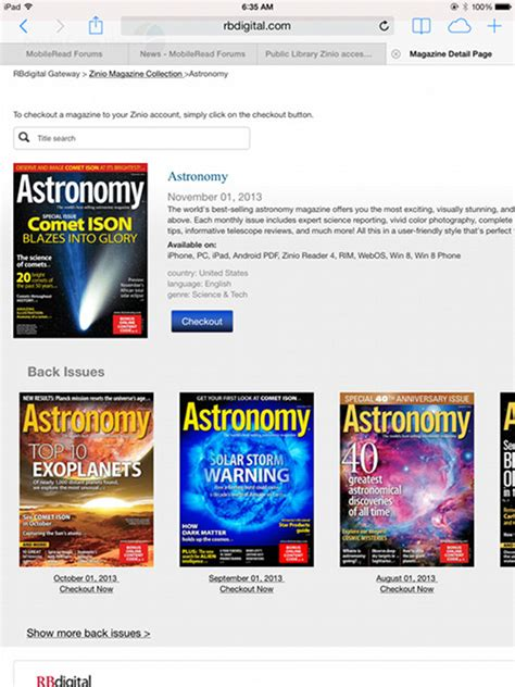 download free magazines from your library with zinio zinio now offers free back issues of magazines through