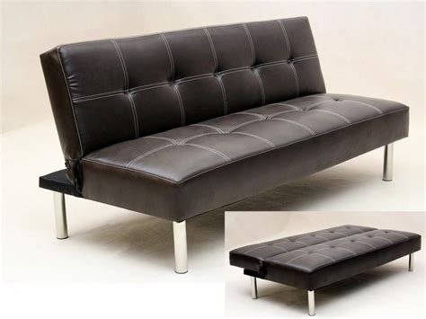 classy elegant  stylish  leather sofa bed theydesignnet theydesignnet
