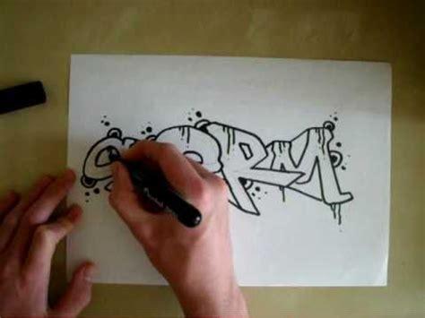 tutorial menggambar graffiti video cara belajar graffiti 03 cara belajar