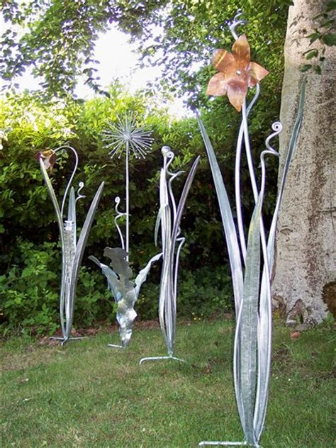 metal garden metal sculptures metal garden plant sculptures