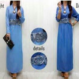 Dahia Dress Maxi Kaftan Gamis Wanita Fit To maxi dress pesta maxi dress baju muslim busana
