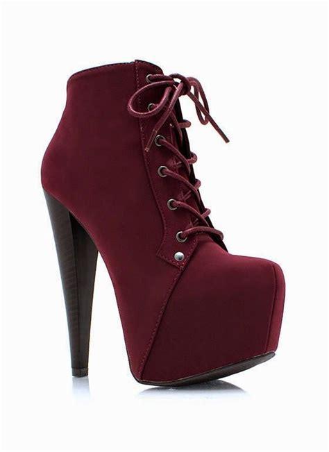 imagenes de botas rockeras para mujeres las 25 mejores ideas sobre vestidos color vino en