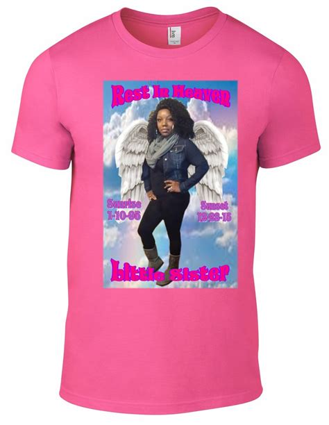 rest in peace memorial t shirt large photo 11 quot x 17