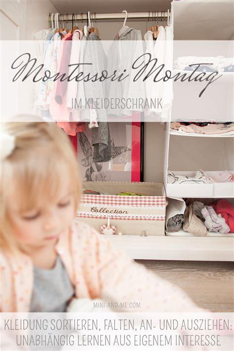 kleiderschrank sortieren montessori im kleiderschrank sortieren falten an und
