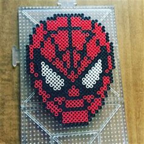 spiderman hair pattern nfl team logo perler bead magnet choose one by