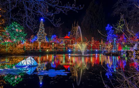 9 places to see christmas lights in vancouver