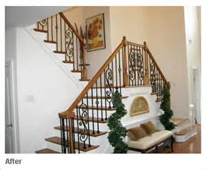 Exterior Stair Handrails Metal Iron Balusters Custom Staircases And Wrought Iron
