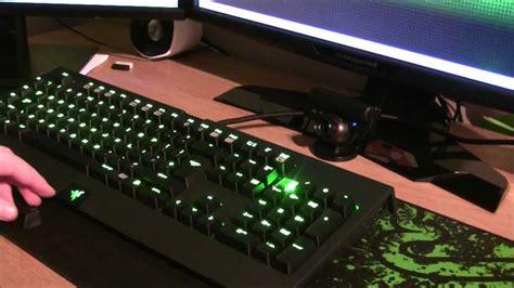 Razer Blackwidow Ultimate 2013 Elite Mechanical With Light by Razer Blackwidow Ultimate 2013 Fully Mechanical Cherry Mx
