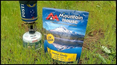 mountain house meals healthy backpacking food new mountain house meal review youtube
